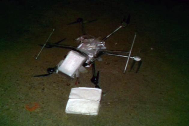 Un drone transporte de la drogue !