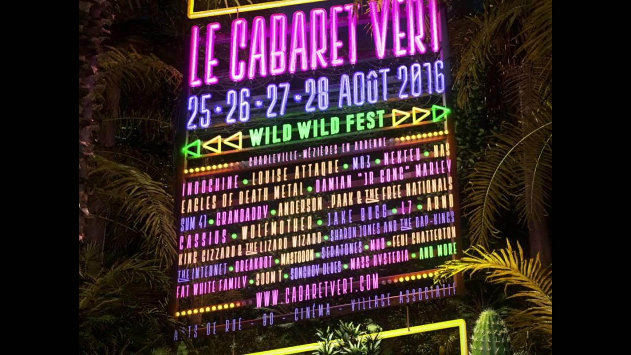 Le Cabaret Vert 2016 vu du haut