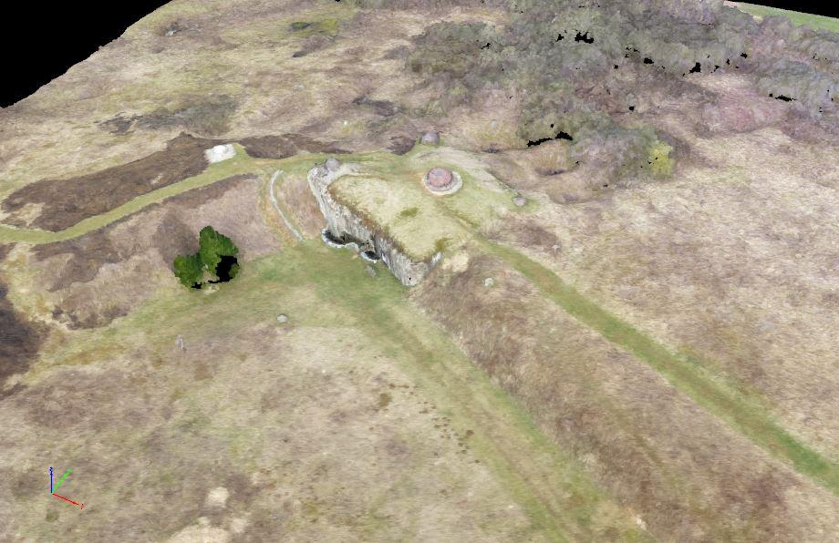 Carte 3D du Fort de Villy-La Ferté