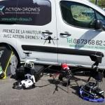 La flotte drones d'Action-Drones