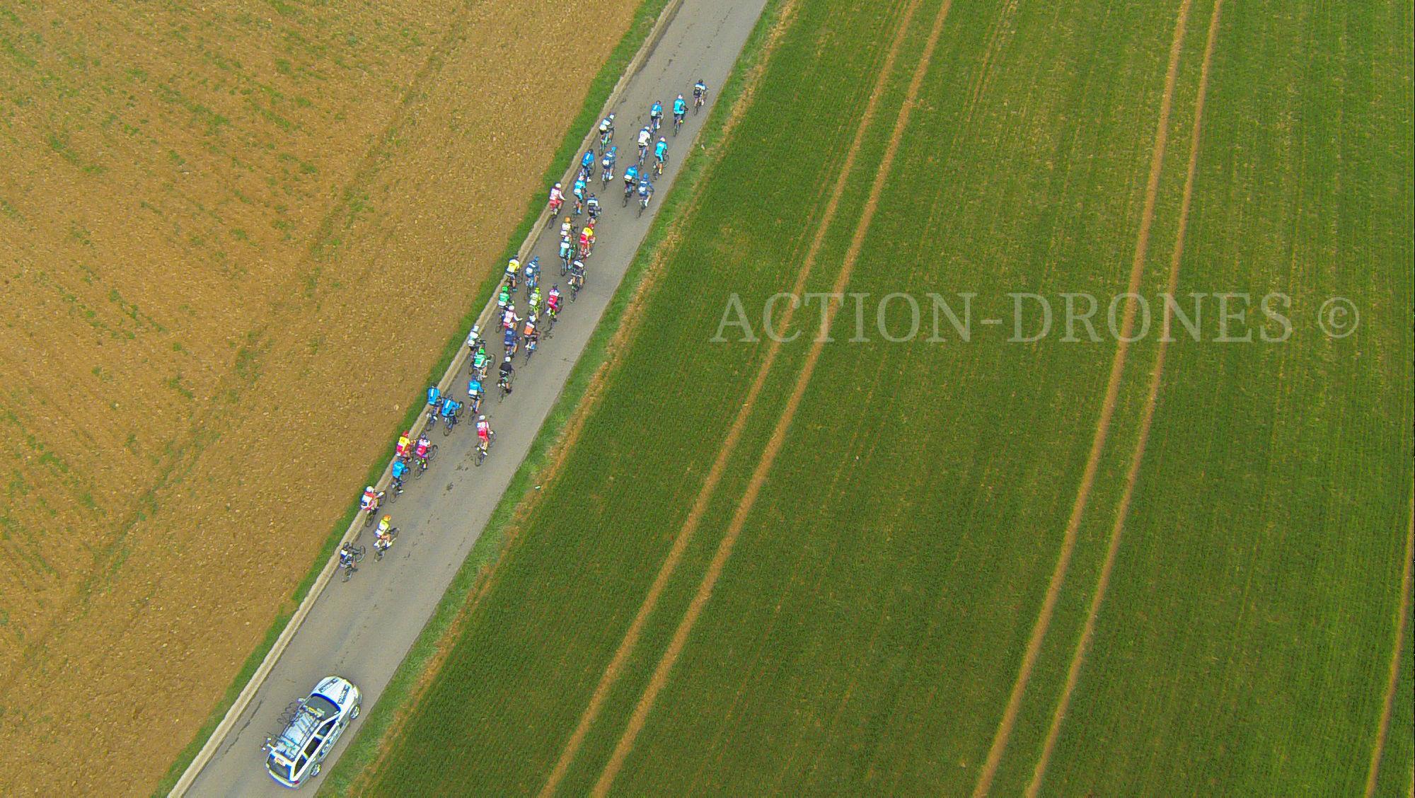 Le Circuit des Ardennes, vidéo par drone