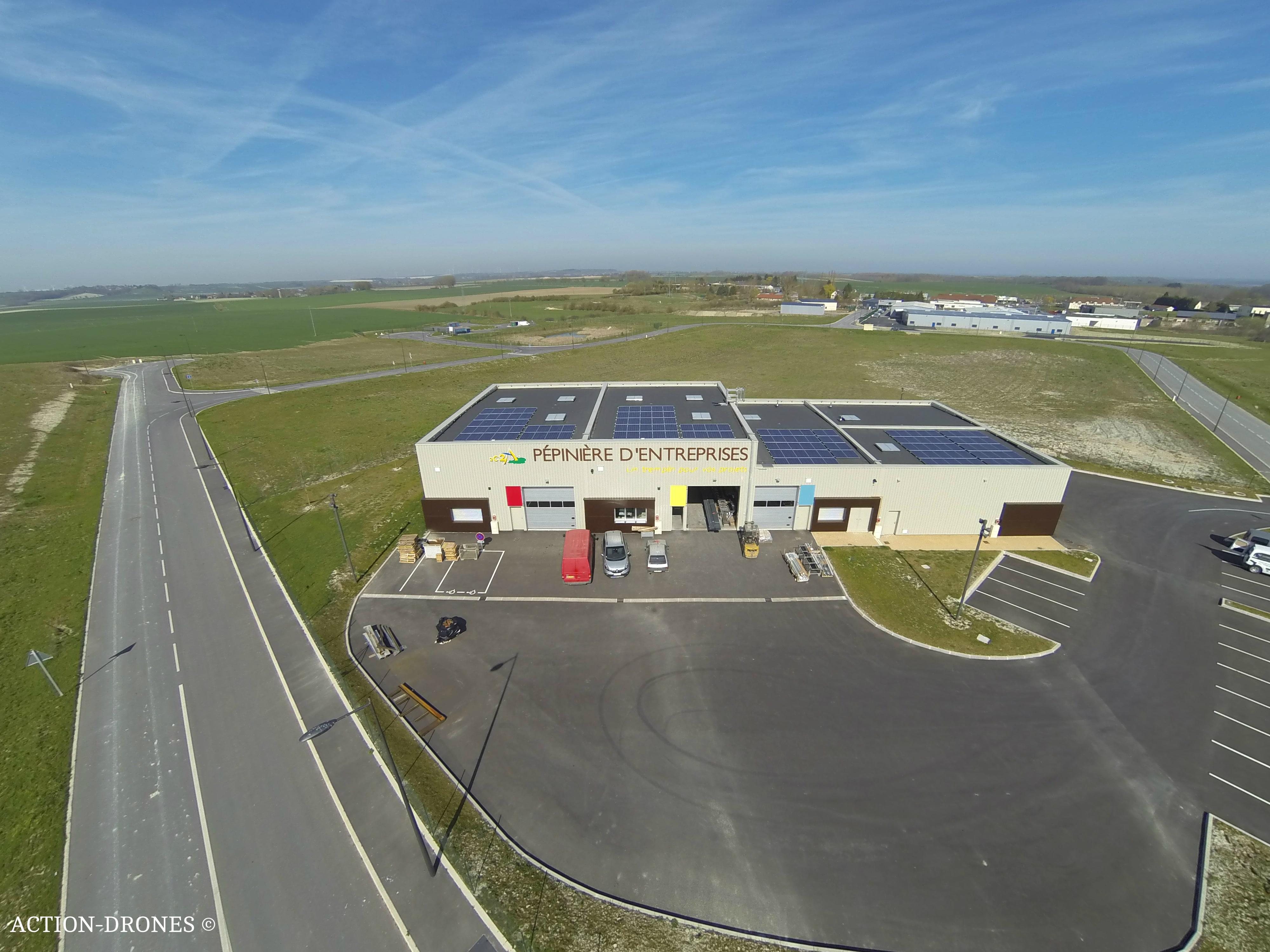 Photo aérienne par drone : Mise en valeur des équipements