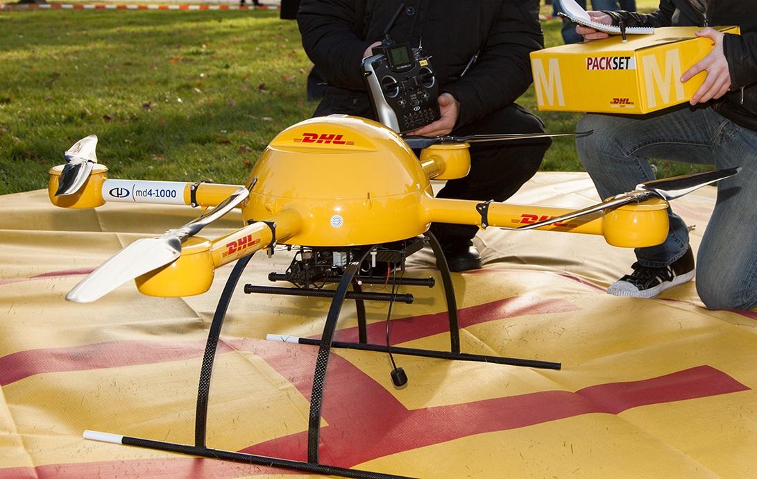 Les livraisons par drone.