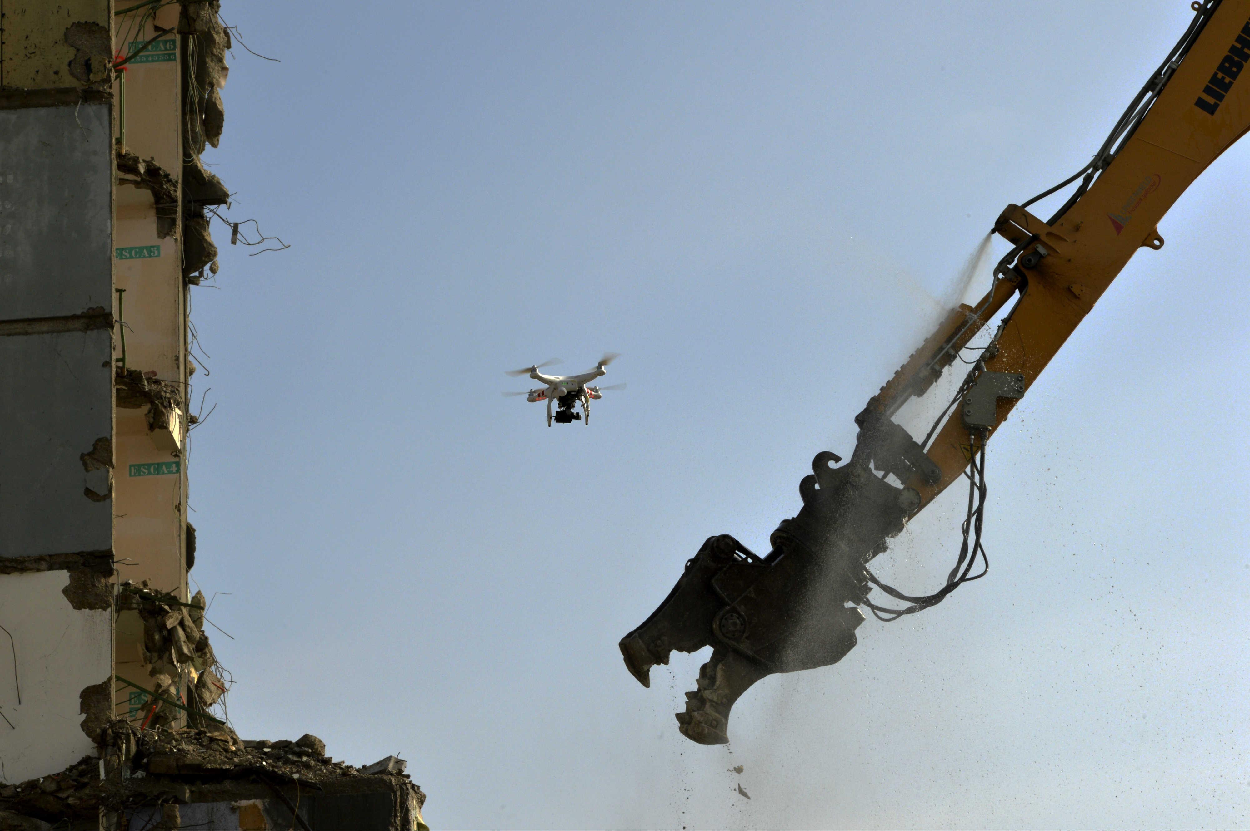 Action-Drones en action