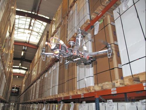 Un drone inventoriste