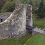Vue aérienne Chateau Montcornet